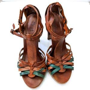 Feet First Strappy Heels Sandal